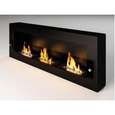 Биокамин Fire Line Glass black