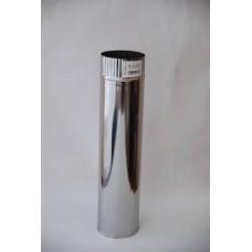 Труба 0,5 м., ф120 нерж. 0,5мм