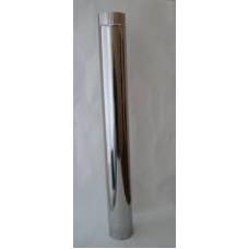 Труба 1 м., ф120 нерж. 0,5мм