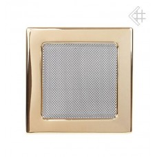 Решетка вентиляционная (17*17 мм) золото