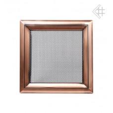 Решетка вентиляционная (17*17 мм) медь