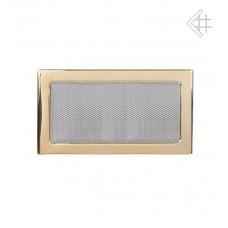 Решетка вентиляционная (17*30 мм) золото