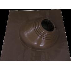 Мастер-флеш силиконовый№2, D 203-280 мм.Коричневый