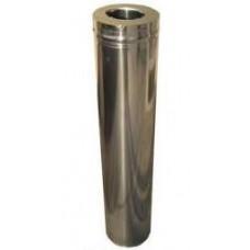 Сэндвич-труба 1 м., ф120/200 нерж/нерж. 0,8/0,5мм