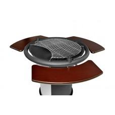 Гриль мангал барбекю GRILL-103 с 3-мя откидными пристольями