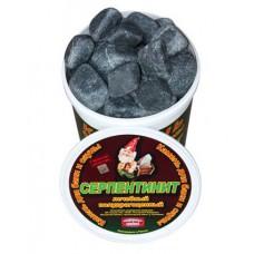 Серпентинит галтованный 20 кг.